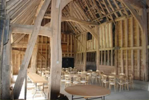The Barn was restored retaining all of the original charm and beauty